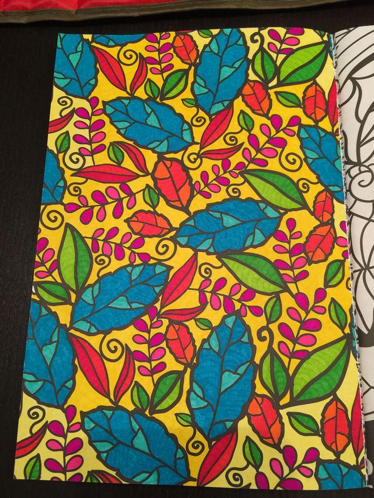 Les 146 meilleures images propos de coloriages adultes termin s sur pinterest fleurs - Idee voor volwassenen ...