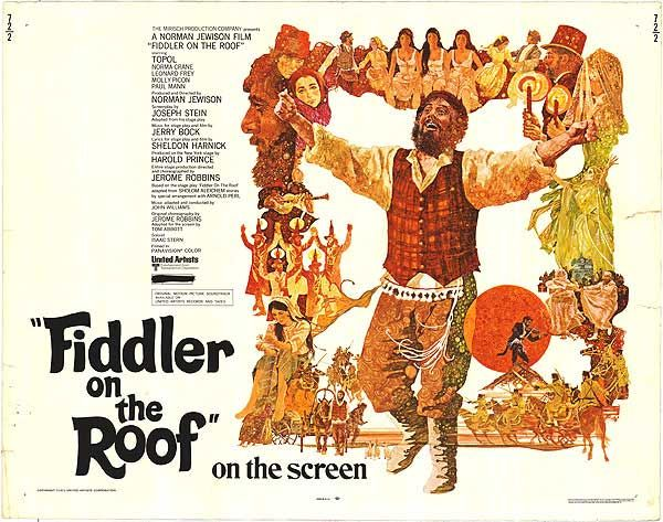 Fiddler On The Roof 1971 Magical Movies Pinterest