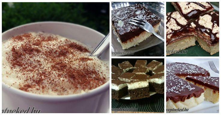 Valamilyen megmagyarázhatatlan ok miatt, a tejbegrízes sütik mindig finomak! Össze is gyűjtöttük a kedvenceinket, hogy Neked már csak sütni kelljen!