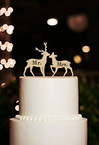 30 Rustic Wedding Theme Ideas Cake ToppersCountry