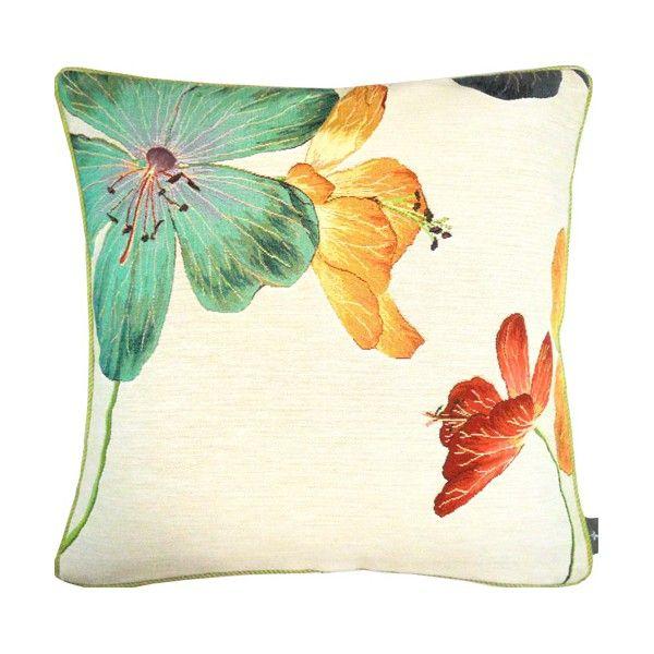 cushion Géraniums des prés, multicolor - Coussins - Art de Lys