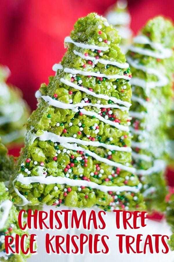 Rice Krispie Treats Christmas Tree.Christmas Tree Rice Krispies Treats