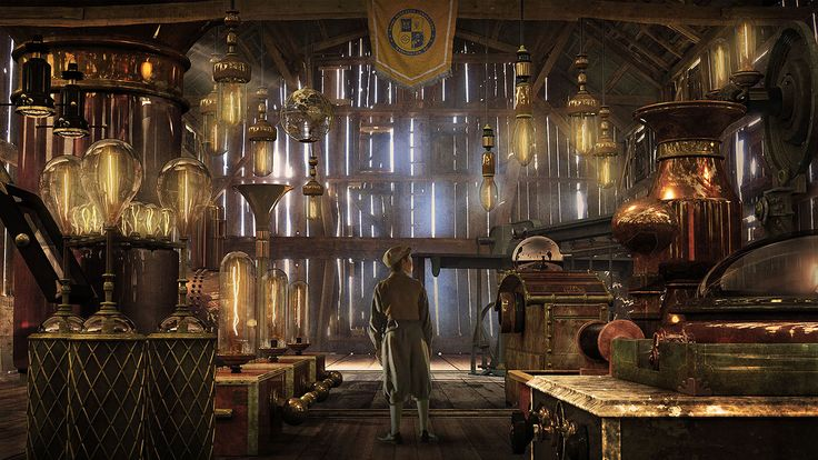 Interior: Enthralling Steampunk Interior Design Ideas, Fantastic ...