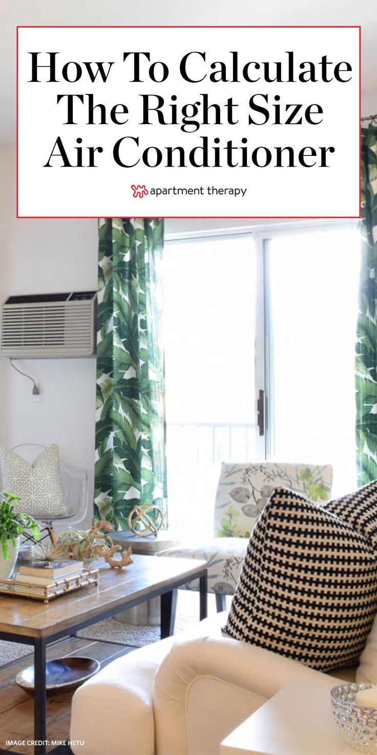 What Size Air Conditioner Do I Need? The Right BTU Number