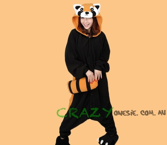 Raccoon Onesie. 25% off EVERYTHING in store. Free Express Delivery Australia-wide. Visit www.crazyonesie.com.au for more details. Visit our Facebook page https://www.facebook.com/crazyonesie for exclusive competitions and discounts