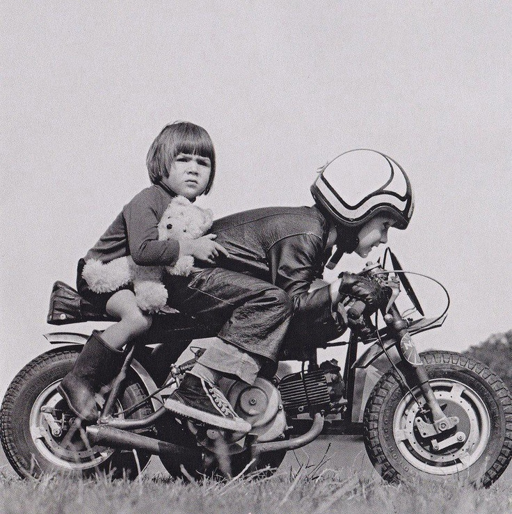 14 best Vintage motorcycle kid pictures images on Pinterest ...
