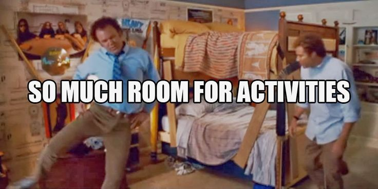 Image result for so much room for activities