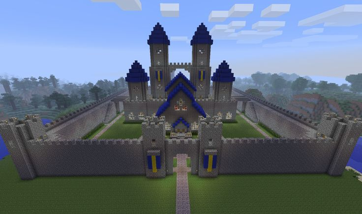 Well here's the final product of my work. took about 2 and a half weeks to add all the little details to make this castle look awesome. I cant wait to be able to put NPCs everywhere and populate my...