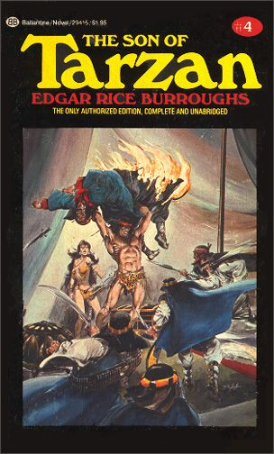 Book Review: The Son of Tarzan by Edgar Rice Burroughs