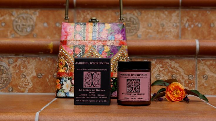 Jardins d'Écrivains Aroma candle Le Jardin de Brixen Nairobi (ambre, musc, cedre) review/ Ароматическая свеча Сады Писателей Найроби отзыв