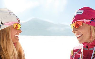 Olympic Dreams. Friends, teammates, and world champion cross-country skiers Kikkan Randall and Jessie Diggins set their sights on #Olympic gold. #Sochi2014 #XCSkiing #Skiing