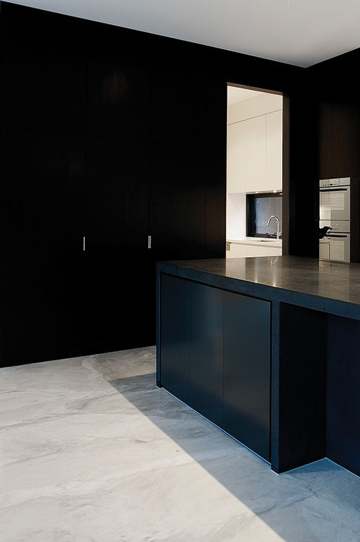 Kitchen from a home in Kew, Melbourne, Australia by Canny Design