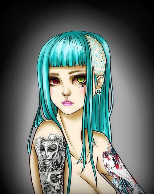 #punk #rockstar #tattoo