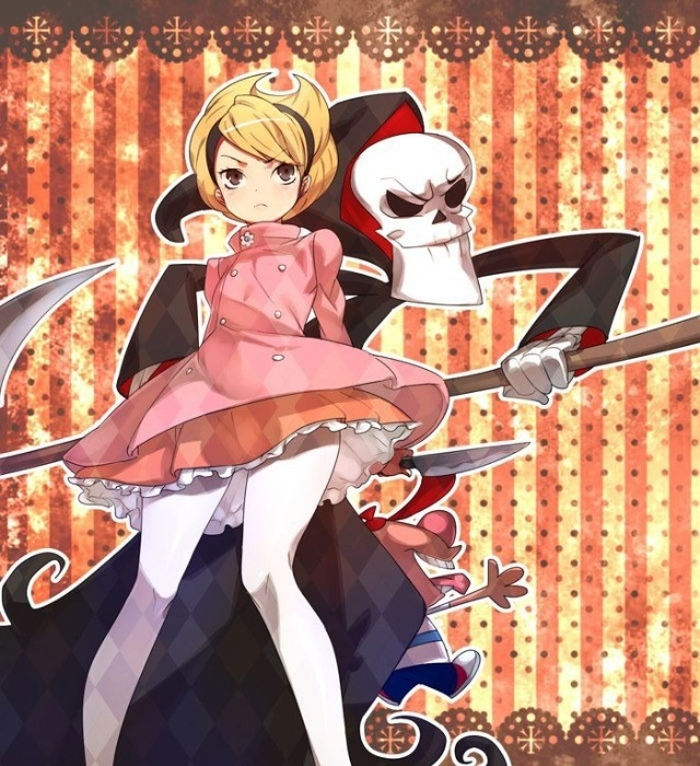 Grimm adventures if Billy and Mandy  anime