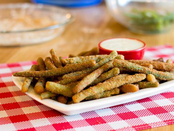 Top Secret Recipes   T.G.I. Friday's Crispy Green Bean Fries Copycat Recipe