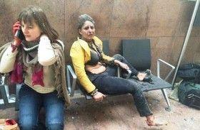 La mujer que se volvió el rostro de los atentados de Bélgica