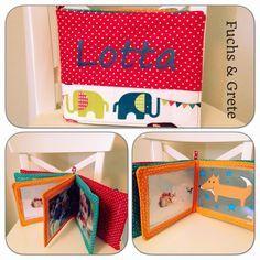 Baby Fotoalbum aus Stoff - erstes Fotoalbum freebook