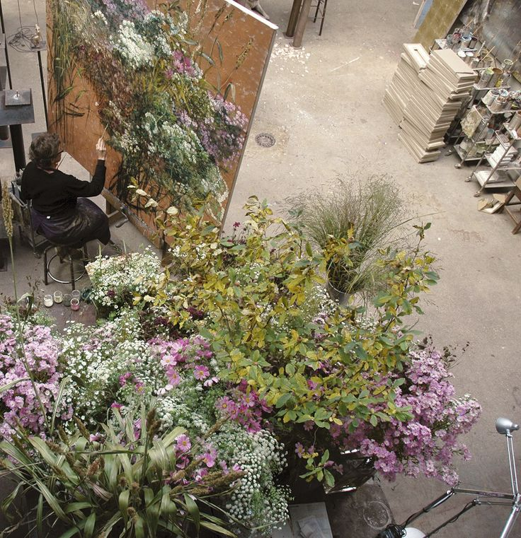 Om Pom Blog. Claire Basler in her home. new 11