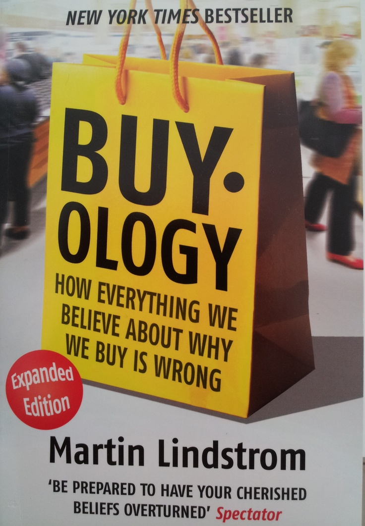 Brilliant book based upon scientific research which tells why we REALLY buy what we buy!