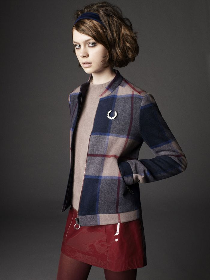 Richard Nicoll's second Laurel Wreath Collection for Fred Perry
