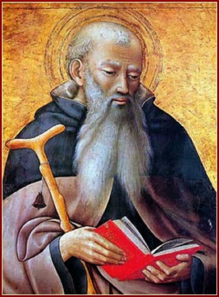 Maestro dell' Osservanza, san Antonio, c.1425