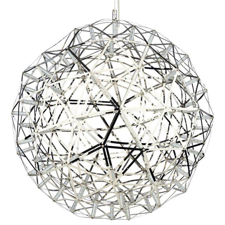 Atelier - Lampe suspendue en métal en forme de sphère/LAMPES SUSPENDUES/LUMINAIRES/MAGASINEZ PAR PRODUIT/ATELIER BOUCLAIR|Bouclair.com