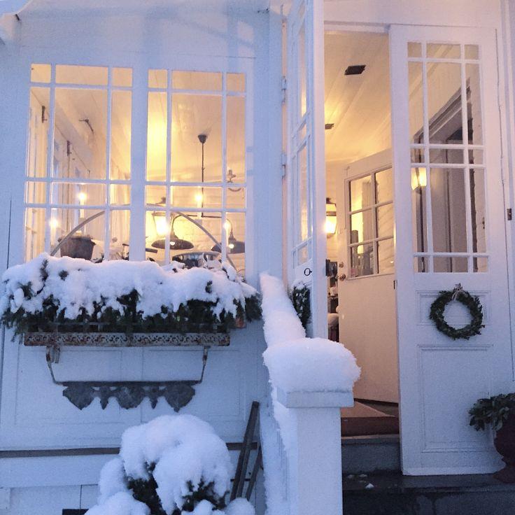 Glasveranda, porch, pardörr, sekelskifteshus