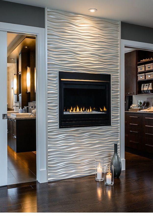 Great modern fireplace