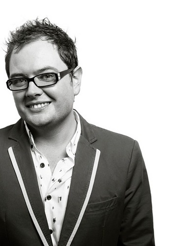 A is for Alan Carr - I think he's one of the funniest comedians in the world and I love watching his show Chatty Man and love his stand up DVD's Tooth Fairy and Spexy Beast!