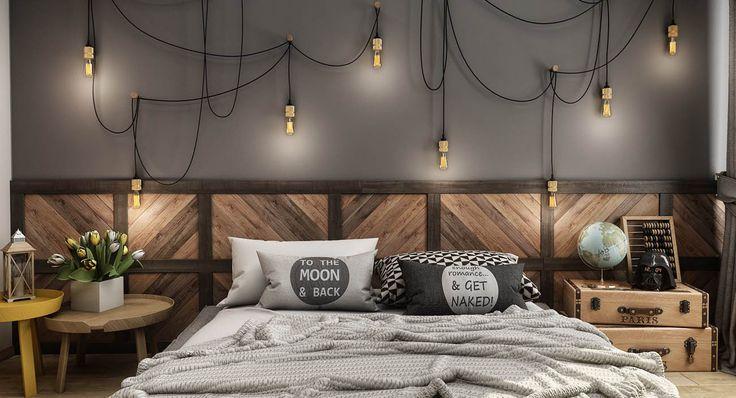 VrayWorld - Modern Vintage Bedroom