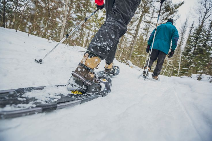 With a typical winter lasting four months or more, Northeastern Ontario is an ideal destination for anyone who wants to get out snowshoeing.