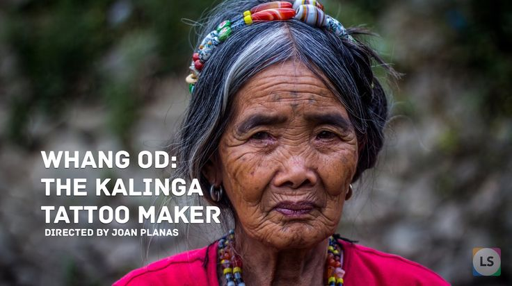 Whang Od is 92 years old and the last Kalinga tattoo maker (Philippines). According to specialists, this practice is about 1000 years old. Tattooing was a natural language of the skin that gave voice to the ancestors and their descendants, and was passed down through the generations.
