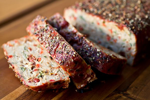 New Year's Resolution Meal: Italian-Style Turkey Meatloaf with Fresh Herbs and Rich Tomato Glaze