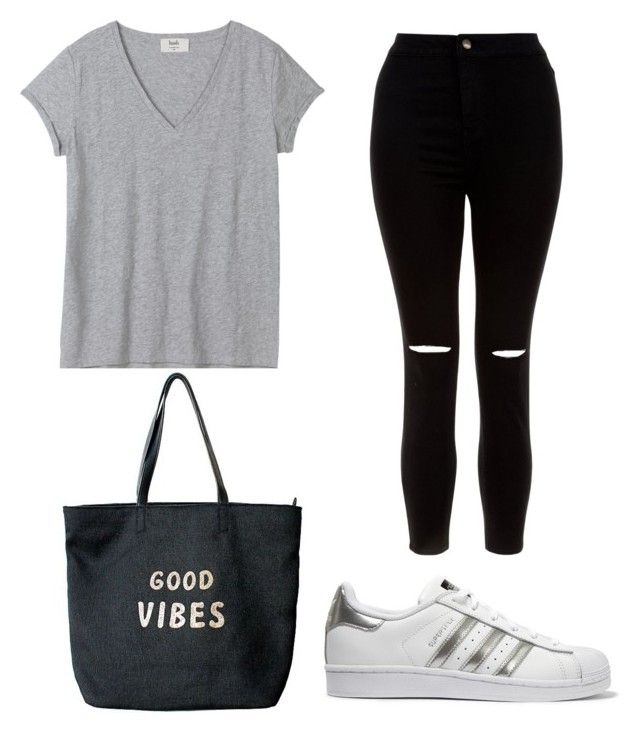 Sans titre #2 by hibas7 on Polyvore featuring polyvore, fashion, style, New Look, adidas Originals, Venus and clothing