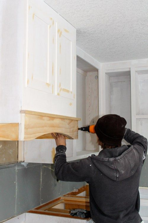 How to DIY Kitchen Range Hood for under $40 | construction2style