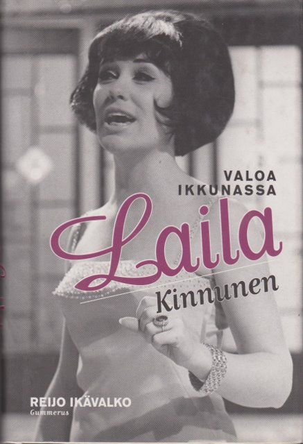 Laila Kinnunen - Valoa ikkunassa by Ikävalko Reijo || Laila Kinnunen (November 8, 1939, Vantaa – October 26, 2000, Heinävesi), Finnish singer. She was one of the most popular Finnish singers of the 1950s and 60s, and represented Finland at the 1961 Eurovision Song Contest, the first time Finland participated in the contest. She spent her childhood in Sweden as a refugee from the Second World War, returning to Finland at the age of ten. - http://fi.wikipedia.org/wiki/Laila_Kinnunen