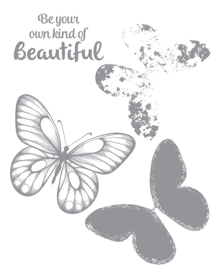 Beautiful Wings Stamp Set -