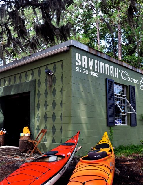 Savannah Canoe & Kayak - rent some kayaks for the day to explore!