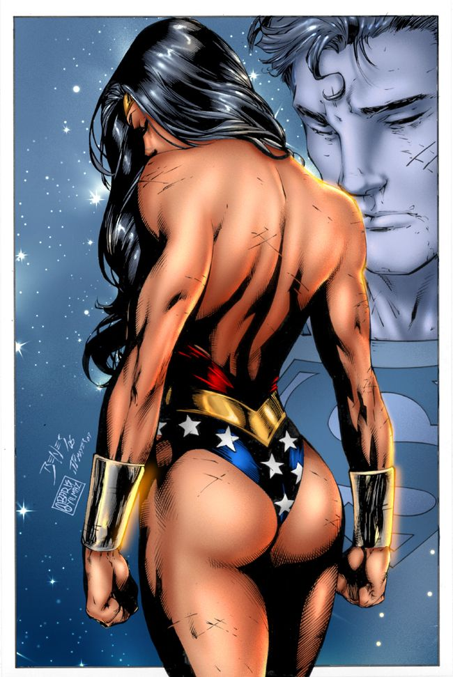 Wonder Woman_Superman by Benes by BarisYilmaz on deviantART