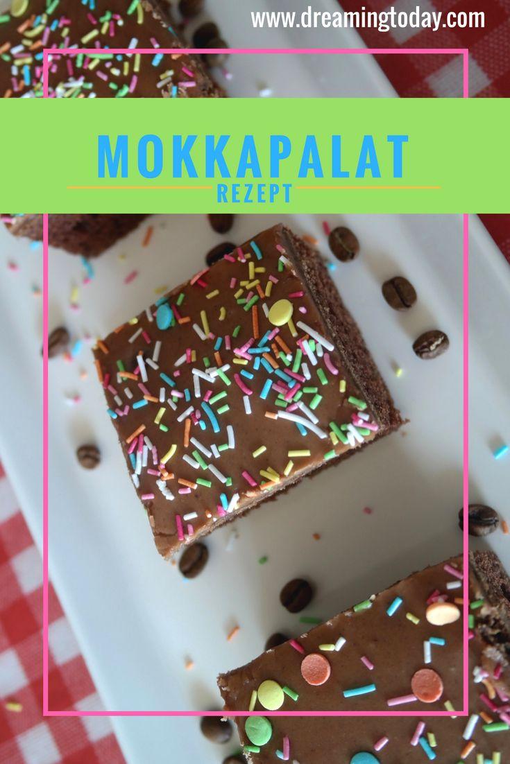 Mokkapalat (Mokkastücke) ist ein leckerer Kuchen mit der tollen Kombination aus Kaffee und Kakao. Probiere sie doch mal aus.