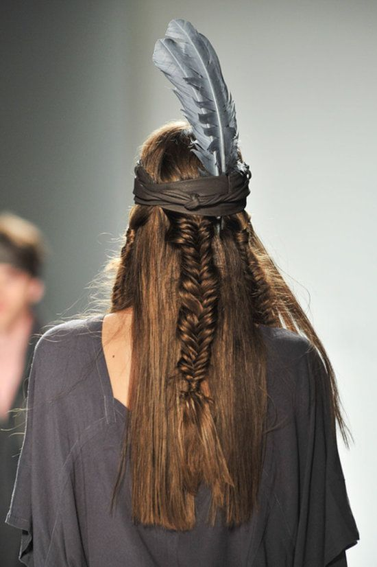 CHIC NYFW l Nicholas K Spring 2014 l runway l hair http://www.bellasugar.com/Braid-Trend-Spring-2014-New-York-Fashion-Week-31689304?slide=6&image_nid=31689367