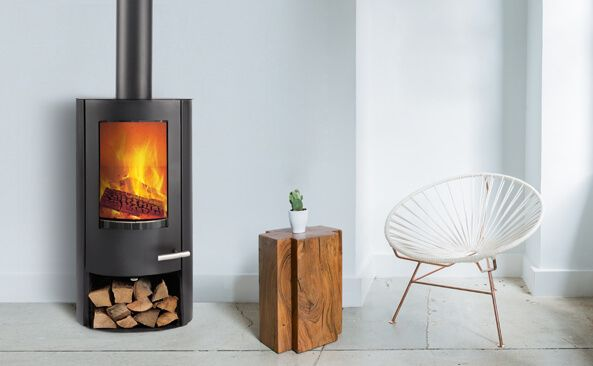 TT20Bazic R with its rounded sides is the latest addition to our best-selling, tried and tested wood-burning stove range. Here is a firebox which complies with all the tough European requirements, together with a stove which is amazingly easy to use and control. The low position of the handle and convection cooling ensure you can...