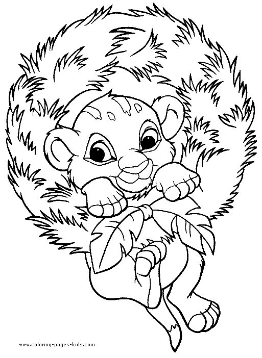 Christmas Disney Coloring Pages 3 In This Page You Can Find Free Printable Lot Of Collection