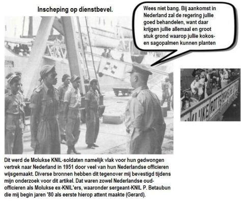 Hoe de Molukkers in 1951 door de Nederlandse regering zijn bedrogen. | Gerard de Boer