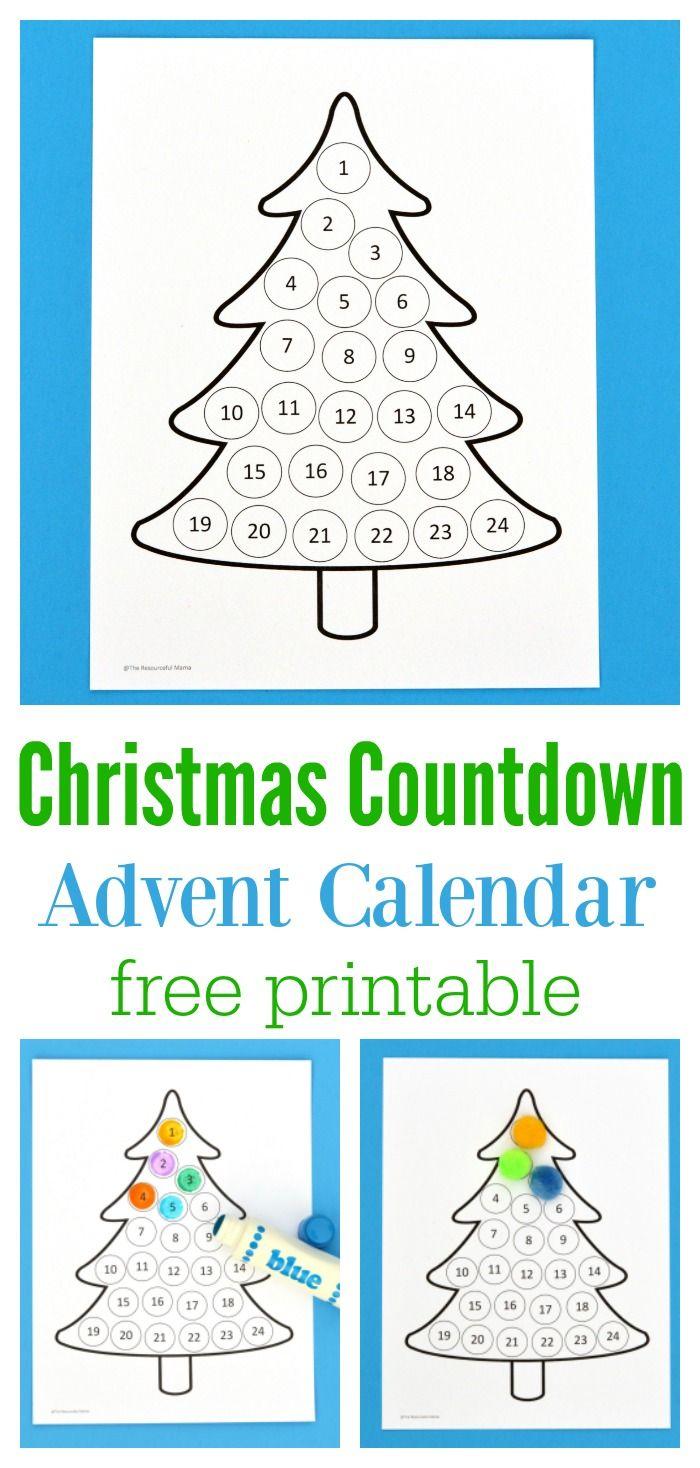 Advent Calendar Preschool : Best christmas countdown crafts ideas on pinterest