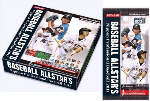 Digital Game Card BASEBALL ALLSTARS Nippon Professional Baseball 2011 Vol1 BOX japan import * Read more  at the image link.Note:It is affiliate link to Amazon.