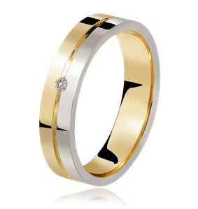 Aliança De Casamento Ouro Branco – lojasrubi