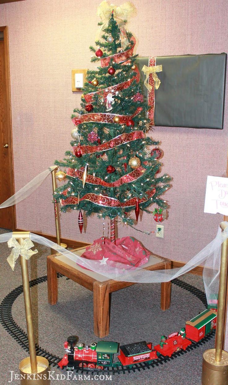 Polar Express Ward Christmas Party