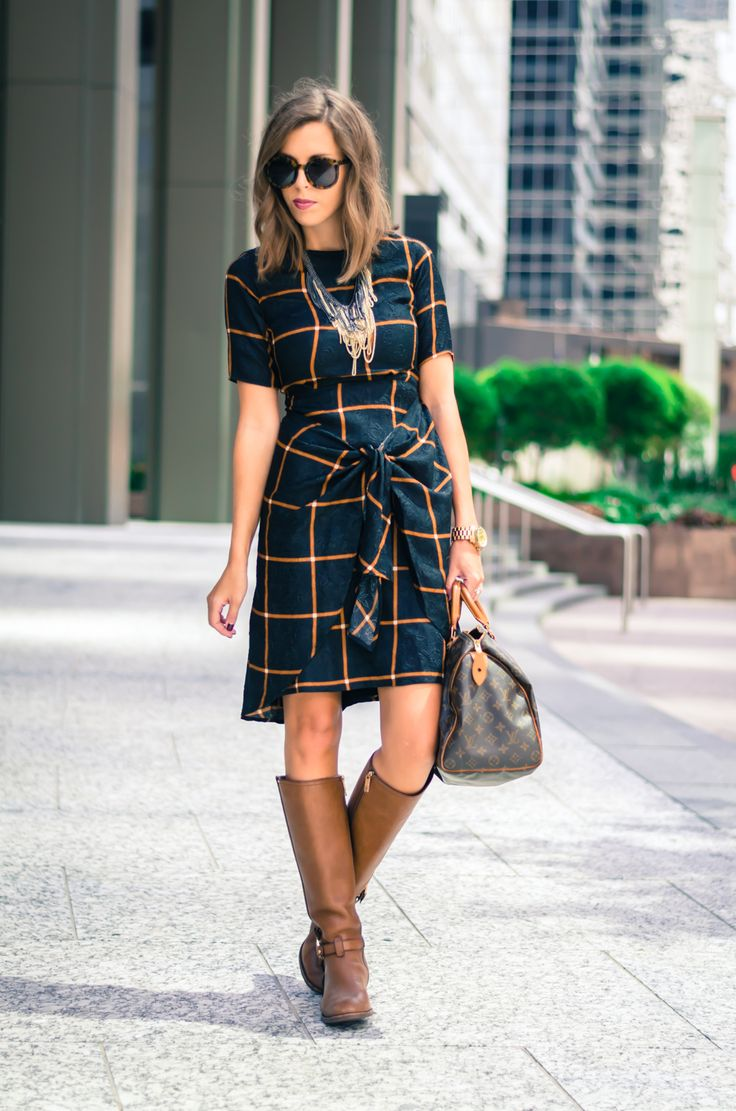 Ecstasy Models — Dress & Riding Boots dress ℅ | Tory Burch riding...