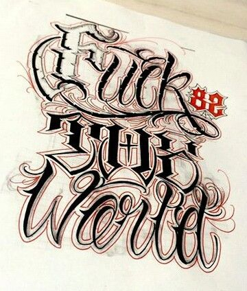 Lettering on Pinterest | Chicano drawings, Tattoo lettering fonts ...